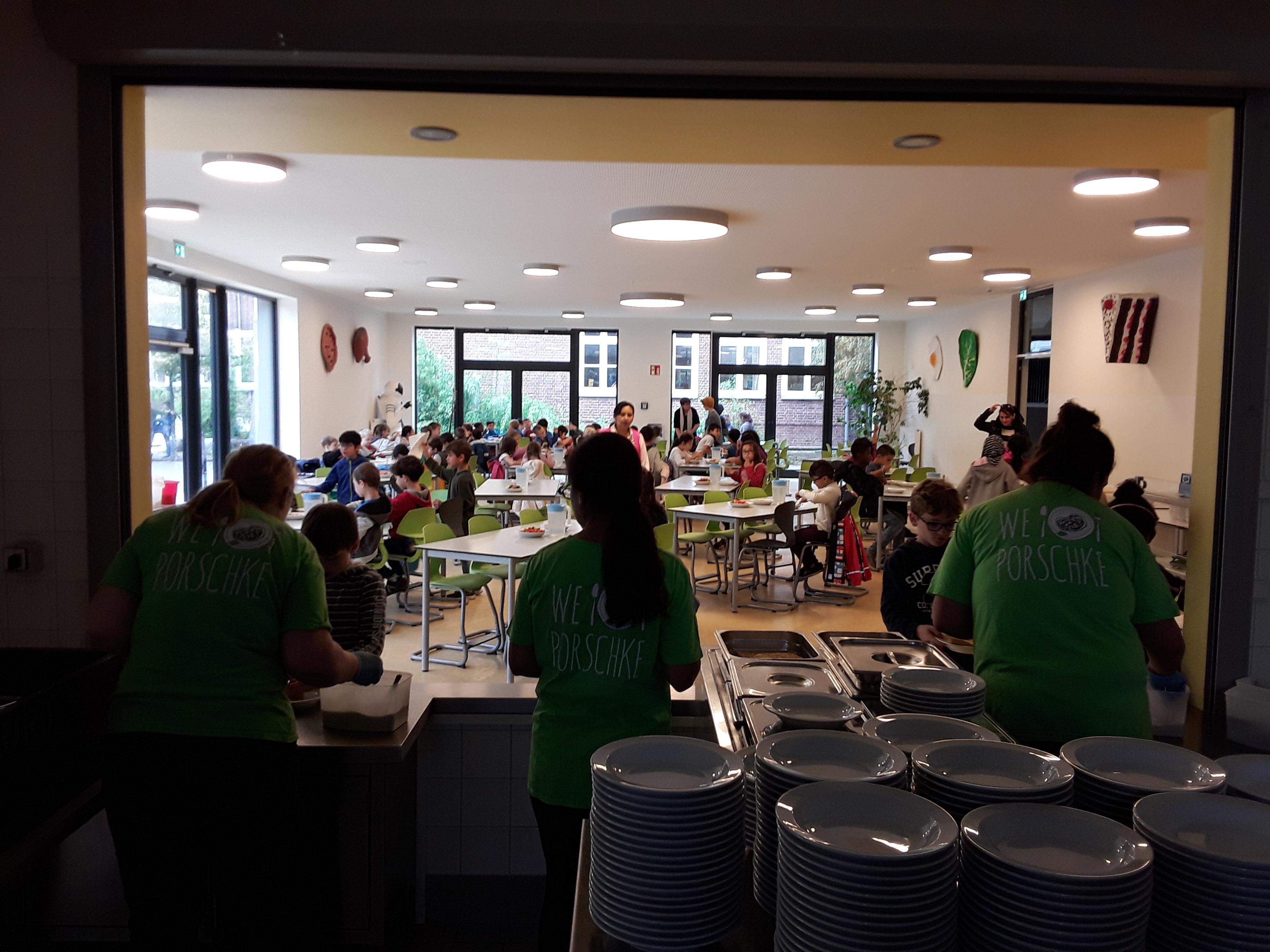 Finkenau F18 Mittagessen im Sinne der Partizipation