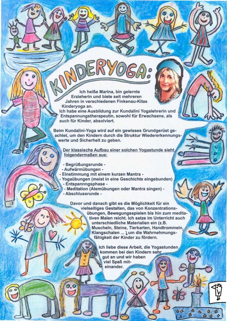 Yoga Plakat Finkenau